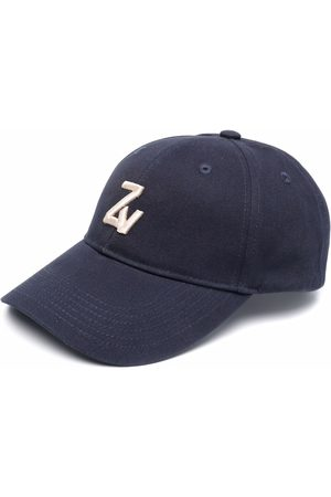 Zadig & Voltaire Homem Chapéus - Klelia intial-embroidered cap