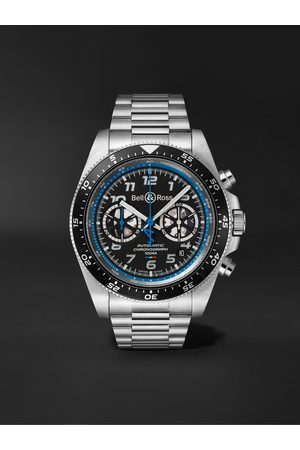 Bell & Ross Homem Relógios - BR V3-94 A.5.21 Limited Edition Automatic Chronograph 43mm Stainless Steel Watch, Ref. No. BRV394-A521/SST