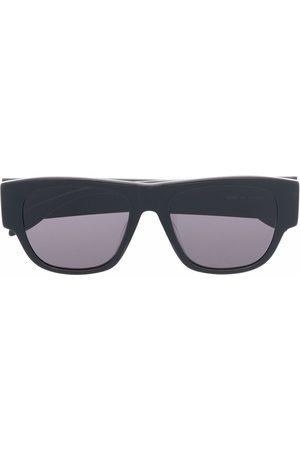 Alexander McQueen Homem Óculos de Sol - Square-frame logo-print sunglasses