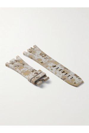 HORUS WATCH STRAPS Homem Relógios - Tang 44mm Rubber Watch Strap