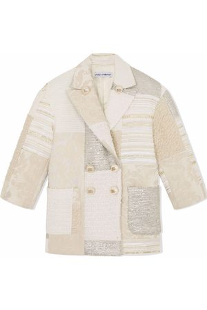 Dolce & Gabbana Patchwork double-breasted blazer