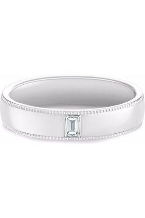De Beers DB Classic Wide Court Poinçon diamond ring