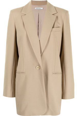 Anna Quan Gianna single-breasted tailored blazer