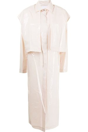 REMAIN Hana storm-flap raincoat