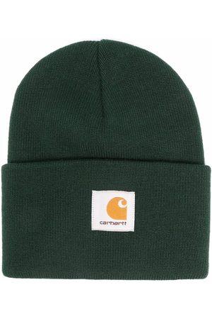 Carhartt Logo-patch knitted beanie