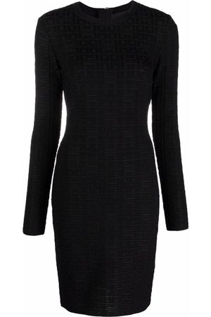 Givenchy Mulher Vestidos Casual - 4G motif fitted dress