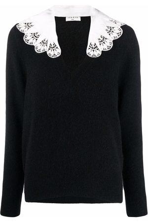 Sandro Lena V-neck sweater