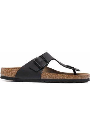 Birkenstock T-strap leather sandals