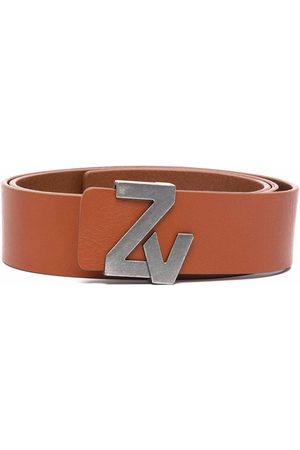 Zadig & Voltaire Logo-buckle belt