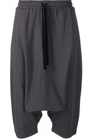 Alchemy Drop-crotch drawstring shorts