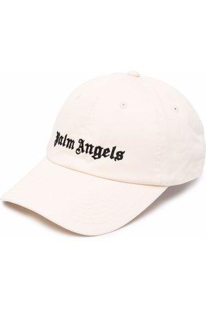 Palm Angels Homem Chapéus - Logo-embroidered baseball cap