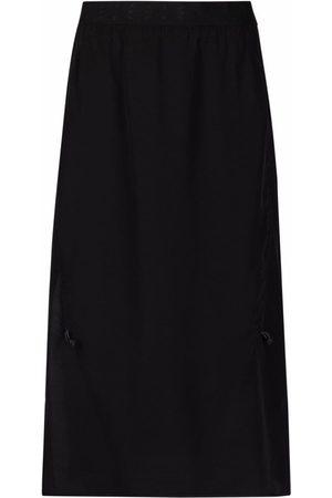 McQ Shift silk midi skirt