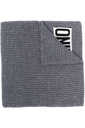 Moschino Logo-print detail scarf