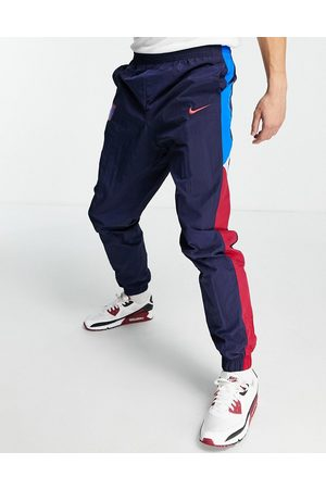 Nike Homem Joggers - FC Barcelona panelled joggers in navy