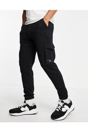 JACK & JONES Homem Joggers - Core cargo joggers in black