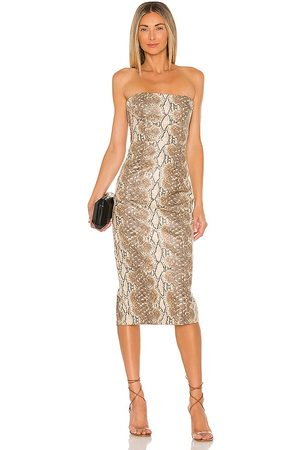 Katie May Vixen Dress in - Tan. Size L (also in M, S, XS).