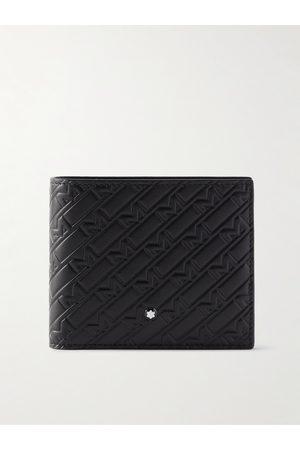Montblanc Logo-Embossed Leather Billfold Wallet
