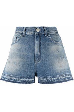 Pinko High-waisted denim shorts