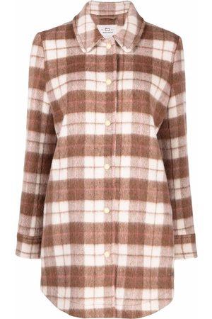 Woolrich Tartan check print shirt jacket