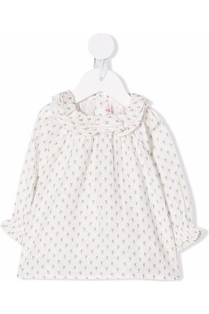 BONPOINT Floral-print ruffled blouse
