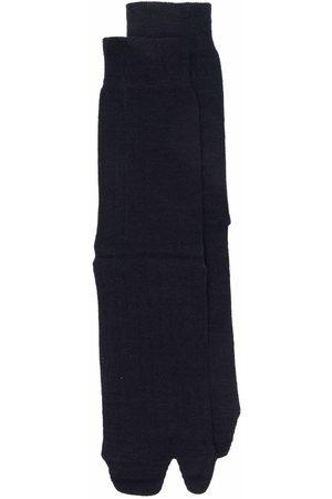 Maison Margiela Tabi-toe rib-knitted socks