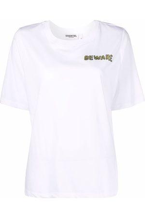 Essentiel Antwerp Mulher T-shirts - Beware T-shirt