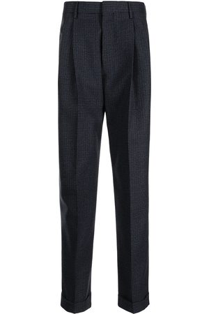 Marni Check print tailored trousers