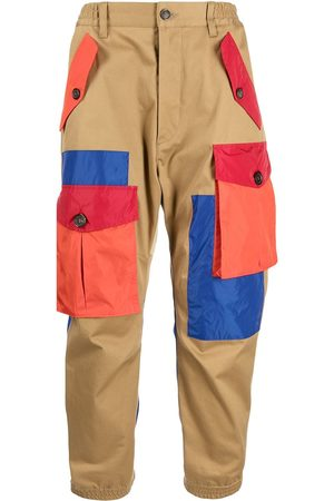 Dsquared2 Patchwork-effect cargo trousers
