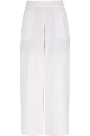 LUIZA BOTTO Cropped wide trousers