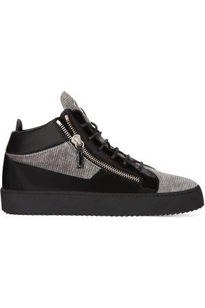 Giuseppe Zanotti Homem Tops & T-shirts - Kriss mid-top sneakers