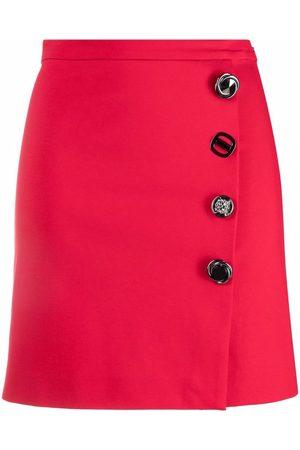Pinko Mulher Mini-saias - Side-buttoned mini skirt