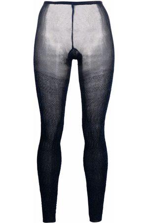 Missoni Mulher Conjuntos de Lingerie - Glitter embroidered sheer leggings