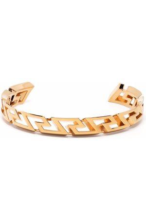 VERSACE Homem Pulseiras - Greca key curved bangle
