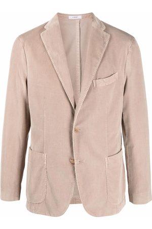 Boglioli Homem Blazers - Single-breasted cotton blazer