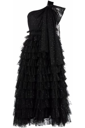 RED Valentino Tull tiered gown