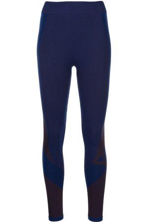 Y-3 Mulher Conjuntos de Lingerie - Seamless colourblock-knit tights