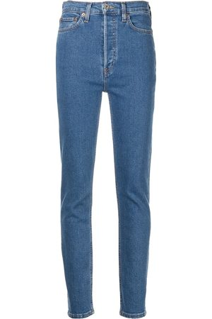 RE/DONE 90's mid-rise ankle crop jeans