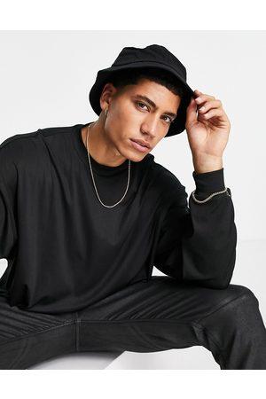 RUDIE Homem Chapéus - Bucket hat in black seersucker