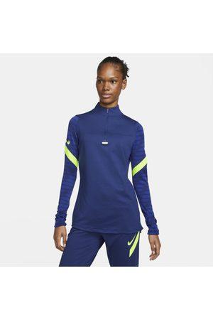 Nike Mulher Camisolas sem capuz - Camisola de treino de futebol com fecho a 1/4 Dri-FIT Strike para mulher
