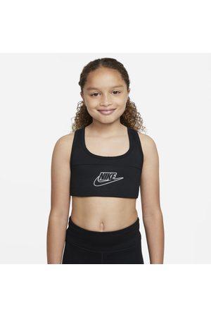 Nike Mulher Soutiens de Desporto - Sutiã de desporto Dri-FIT Swoosh Júnior (Rapariga)