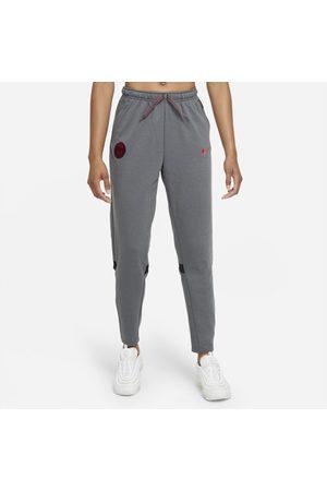 Nike Mulher Calças - Calças de futebol de viagem em lã cardada Paris Saint-Germain para mulher