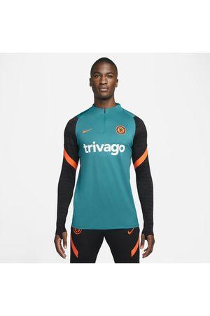 Nike Homem Camisolas sem capuz - Camisola de treino de futebol Dri-FIT Strike Chelsea FC para homem
