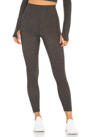 Splits59 Airweight High Waist 7/8 Legging in - Charcoal. Size L (also in S, XS, M).