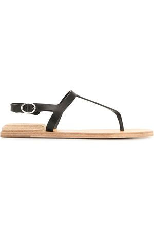 Officine creative Mulher Cuecas - Thong-strap leather sandals