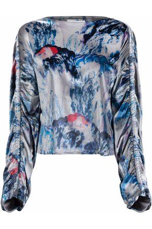 HENRIK VIBSKOV Ruched-detail blouse