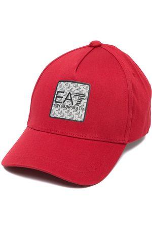 EA7 Homem Chapéus - Logo-patch cotton cap