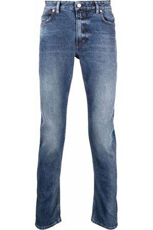 Closed Homem Slim - Whiskering effect slim-legged jeans