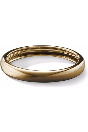 David Yurman Homem Anéis - 18kt yellow Classic ring