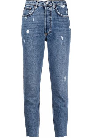 Boyish Jeans The Billy distressed slim-fit jeans