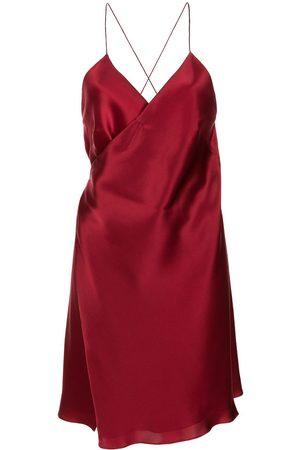 Michelle Mason Mini wrap dress
